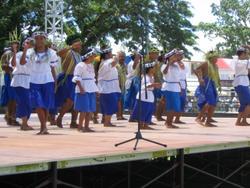 Die Delegation aus Yap