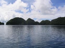 Die Rock Islands von Palau