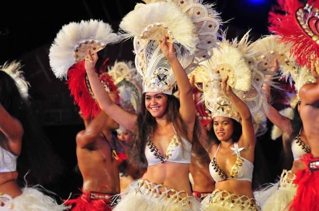 Tahitianischer Tanz