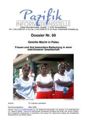 Geteilte Macht in Palau- Frauen und ihre besondere Bedeutung in einer matrilinearen Gesellschaft.