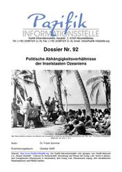 Politische Abhängigkeitsverhältnisse der Inselstaaten Ozeaniens
