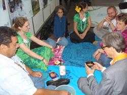 Die Kava-Zeremonie des Pazifik-Netzwerks auf dem OEKT