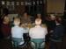 Bruno (hinten rechts mit Brille) im Gespräch mit Mitgliedern der europ. Pazifik-Netzwerk-Solidarität