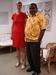 John Lensru aus Westpapua und Julia Ratzmann in der Pazifik-Infostelle