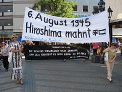 Hiroshima mahnt