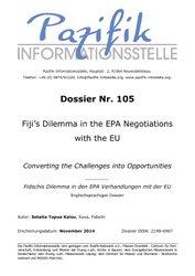 Fiji's Dilemma in the EPA Negotiations with the EU
