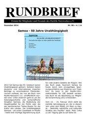 Rundbrief Dezember 2014 (Nr. 98)
