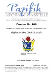 Pathways to Lesbian, Gay, Bi-sexual, Transgender (LGBT) - Rights in the Cook Islands