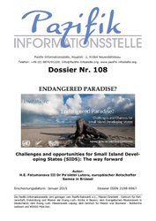 Endangered Paradise? Speech of the Ambassador of Samoa in the EU
