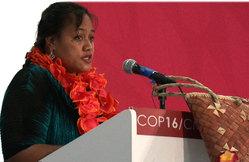 Die Folgen des Klimawandels und Auswirkungen von COP 21 in Paris auf die pazifischen Inselstaaten