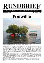 Rundbrief September 2016 (Nr. 105)