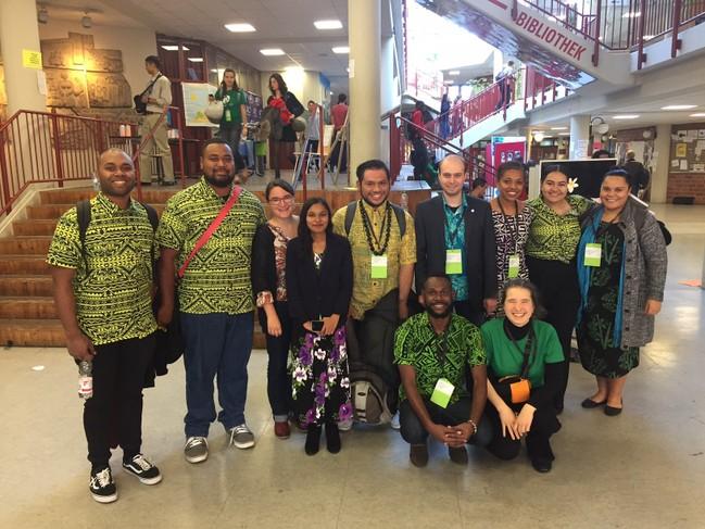 Pacific Climate Warrior, Pacific Voices in Unisono sowie Pazifik-Infostelle und Pazifik-Netzwerk-Vertreter