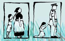 Nein zu Gewalt gegen Frauen!