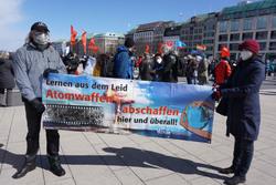 Osterkundgebungen der Friedensbewegung