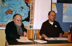 Sebastian Pflugbeil (li.) und Andreas Zumach