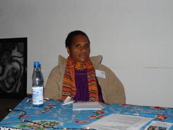 Kerry Tapondol, Referentin aus Mendi, PNG