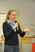Die Vorsitzende Julika Meinert begrüßt