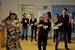 Netzwerkmitglieder tanzen gemeinsam