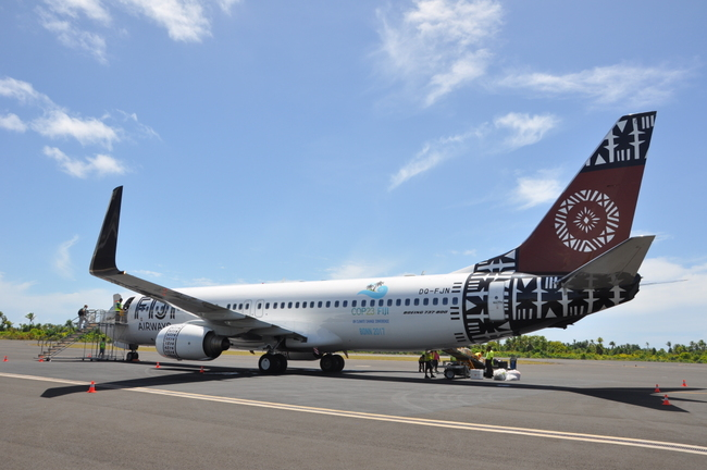 Fiji Airways Logo COP Bonn