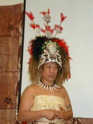 Traditioneller Kopfschmuck
