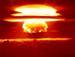 Explosion der Bravo-Bombe auf Bikini
