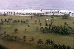 Landeanflug auf Kwajalein