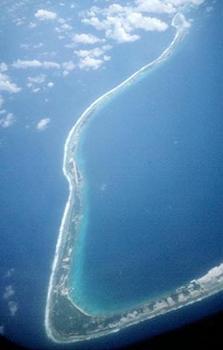 Luftbild Moruroa Ostende