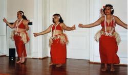 Die Südseeperlen beim Tanz