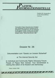 Dossier Nr. 26
