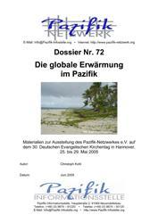 Die globale Erwärmung im Pazifik