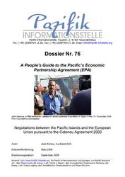A People's Guide to the Pacific's Economic Partnership Agreement.